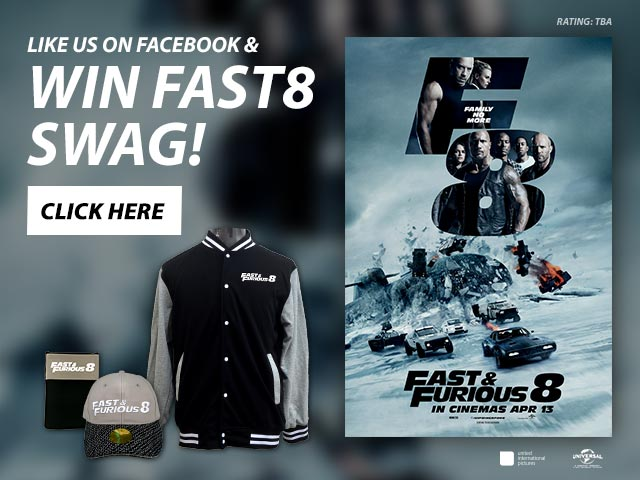 [CLOSED] Win Limited Edition Fast & Furious 8 Swag! [Contest]