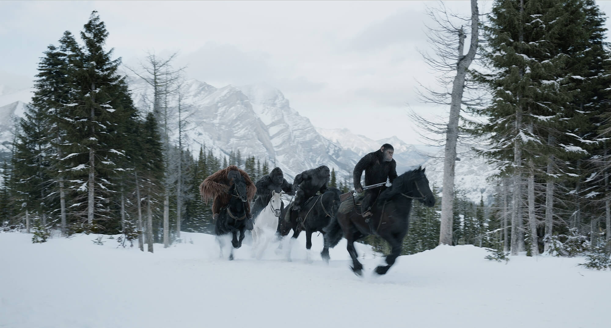 No Mercy In Final Trailer For 'War For The Planet Of The Apes'