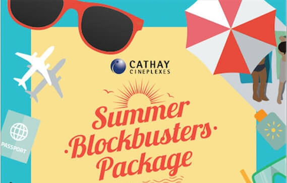 Cathay's Summer Blockbusters Package