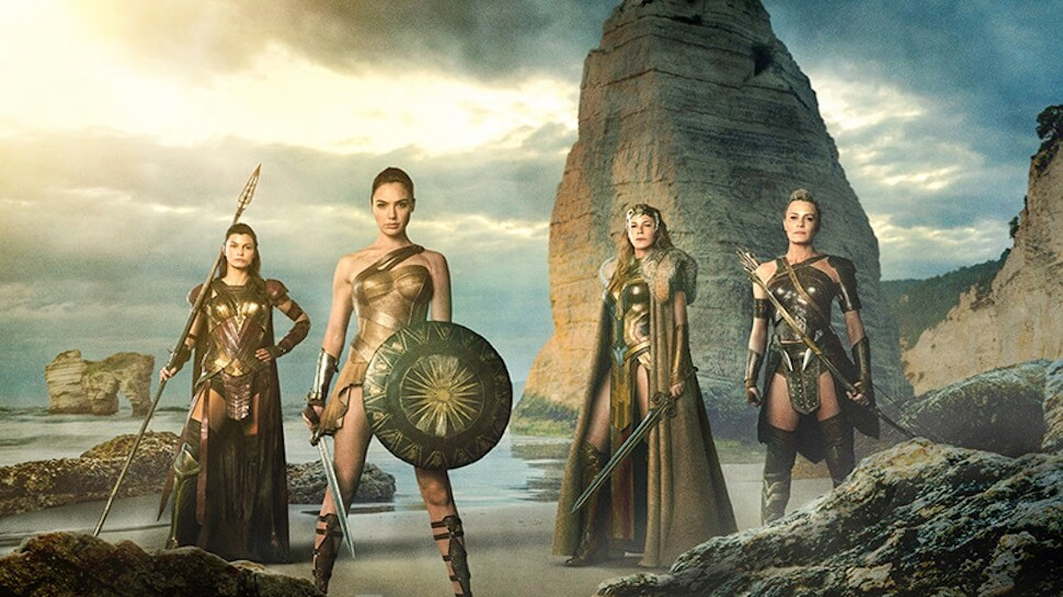 Watch the Amazons Train in This 'Wonder Woman' Set Video