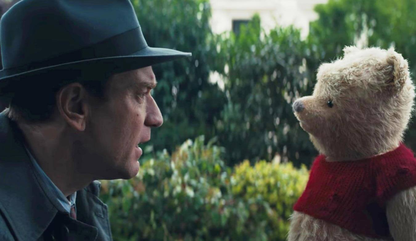 Winnie The Pooh Comes Alive In Disney's New Teaser Trailer For 'Christopher Robin'