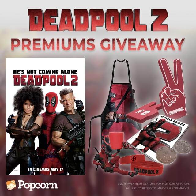 [CLOSED] Win Limited Edition Deadpool 2 Movie Collectibles!