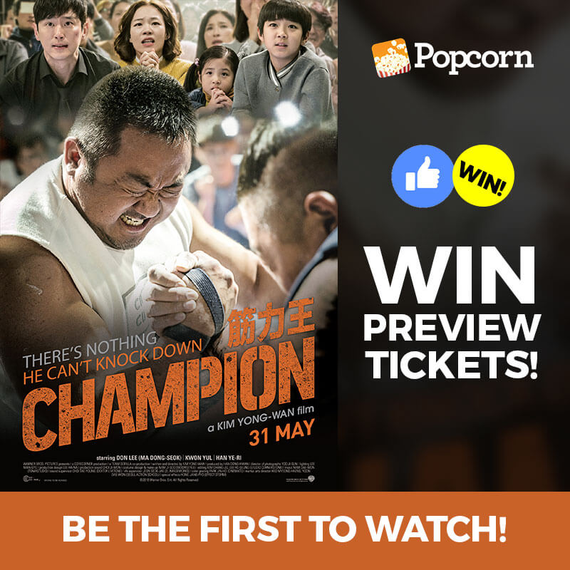 [CLOSED] Win Preview Tickets To Korean Drama Comedy 'Champion'