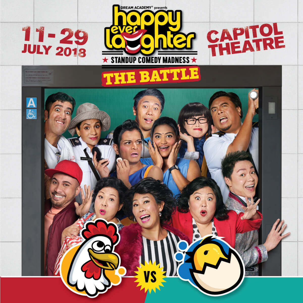 [Exclusive] Happy Ever Laughter - Watch Singapore's Top Comedians Battle It Out!