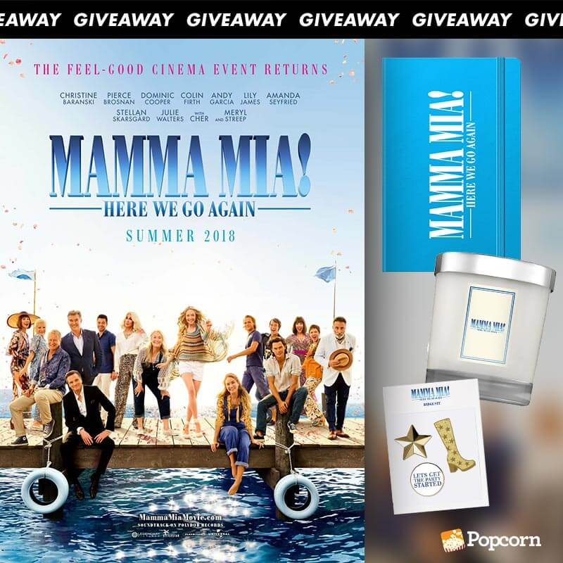 [CLOSED] Win Limited Edition 'Mamma Mia! Here We Go Again' Movie Premiums