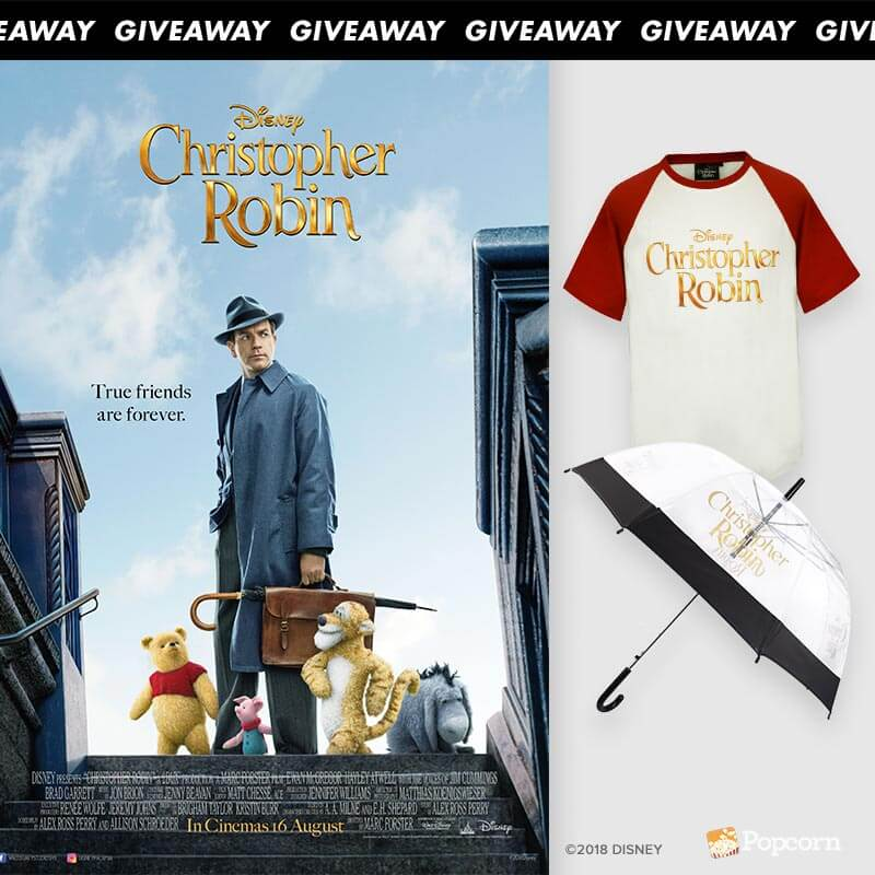 [CLOSED] Win Exclusive Disney's Christopher Robin Movies Passes & Limited Edition Premiums