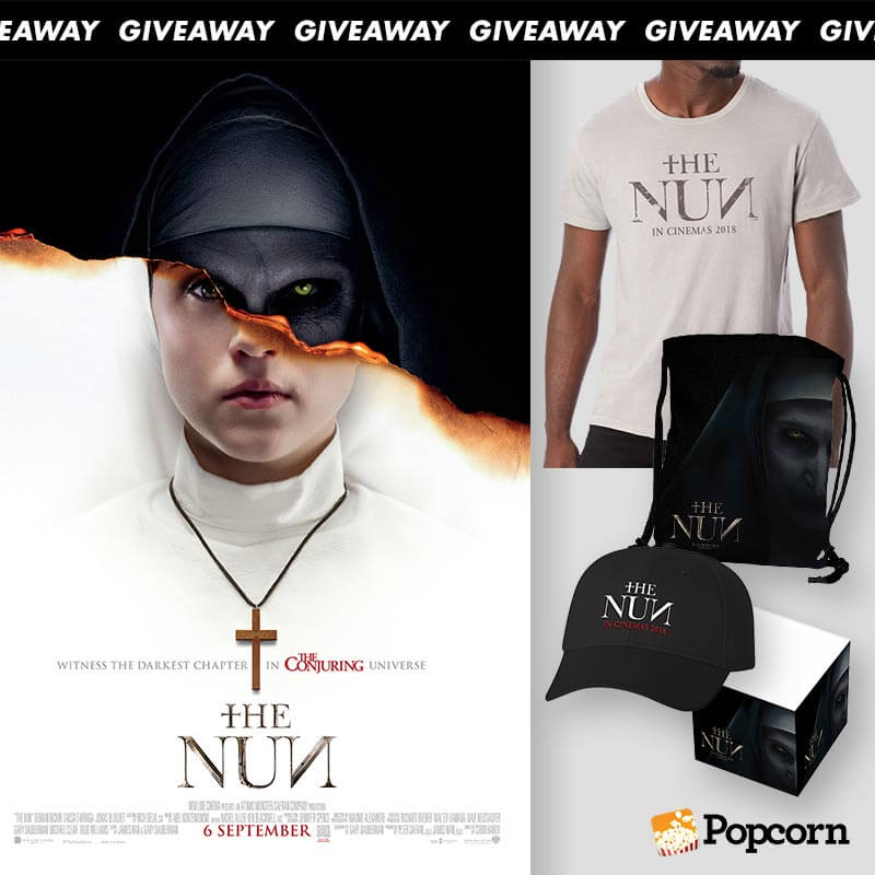 [CLOSED] Win 'The Nun' Limited Edition Movie Premiums
