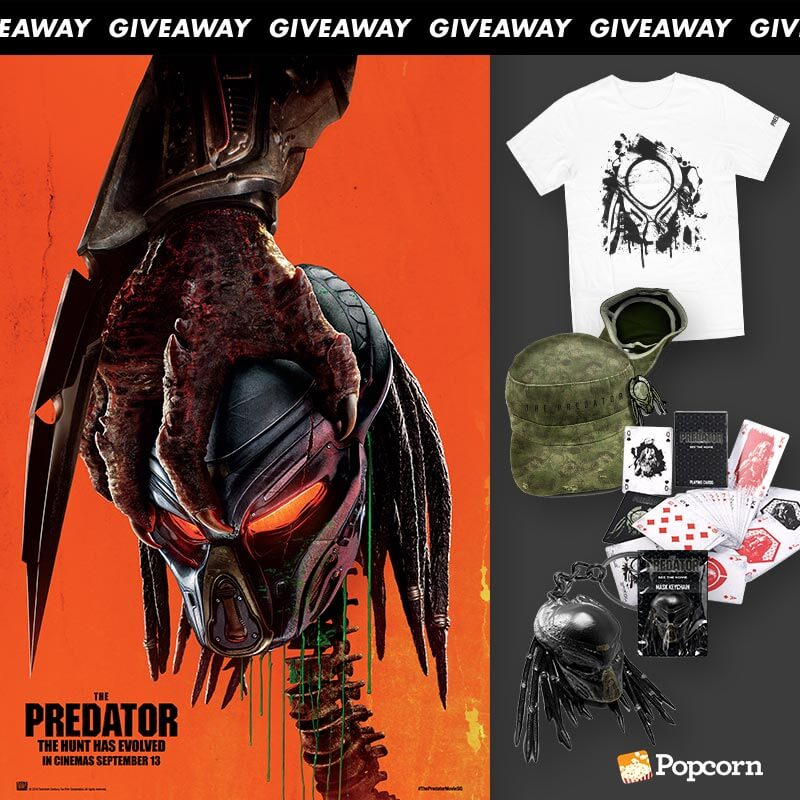 [CLOSED] Win Limited Edition 'The Predator' Movie Premiums