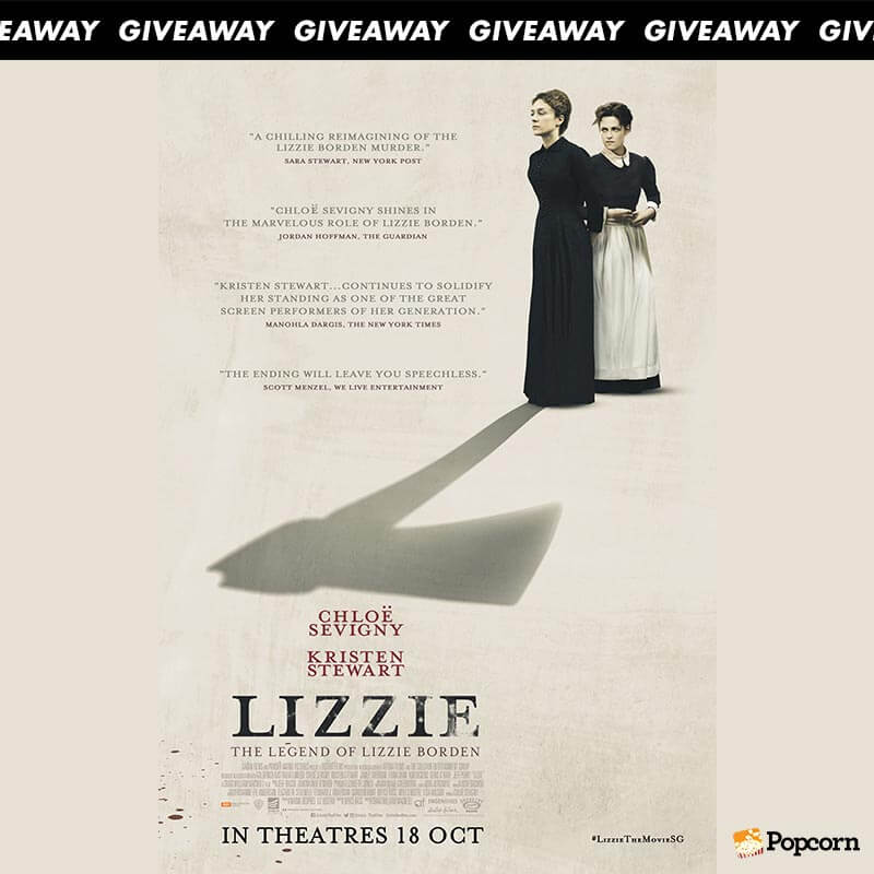 Win Passes To Psychological Thriller 'Lizzie'