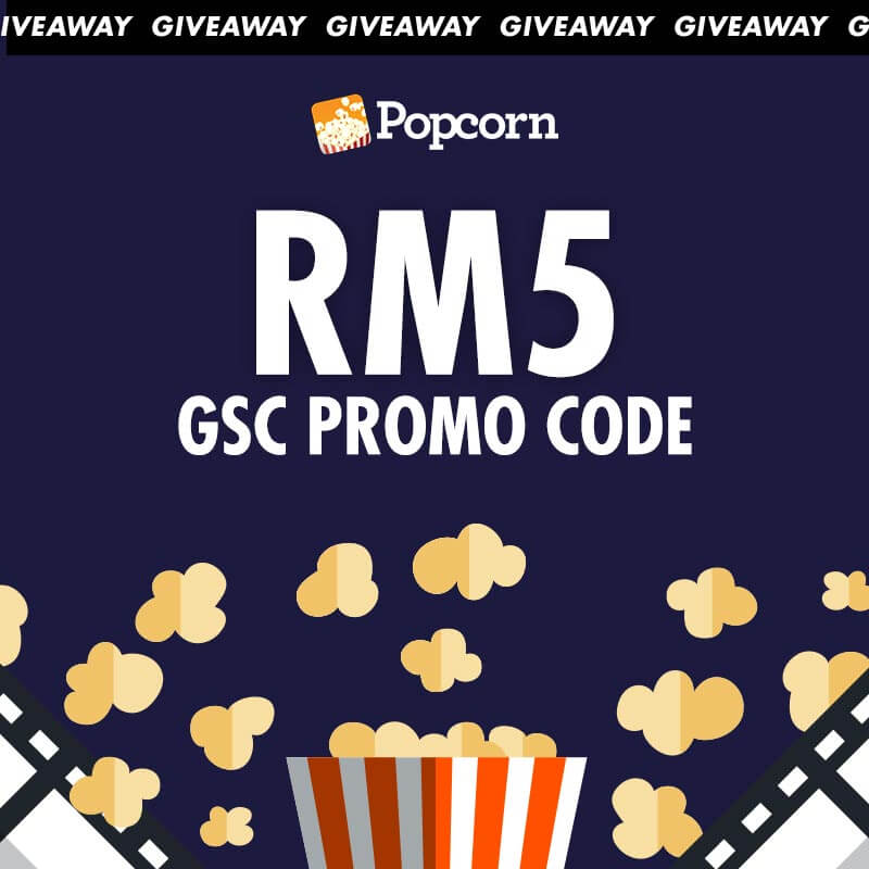[CLOSED] FLASH GIVEAWAY: Win A RM5 GSC Movie Voucher