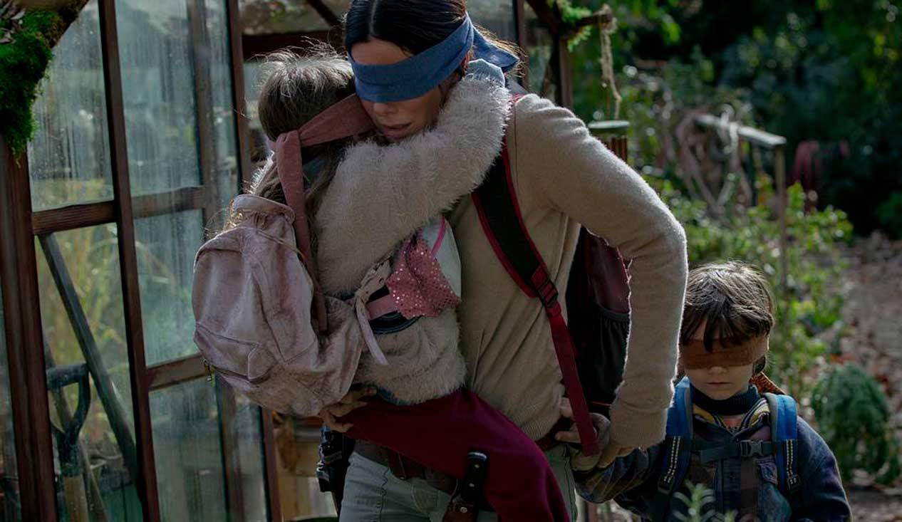 We're Getting All Kinds Of 'A Quiet Place' Vibes From Netflix's First 'Bird Box' Trailer
