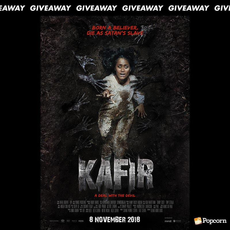 Win A Pair Of Passes To Indonesian Horror Movie 'Kafir'