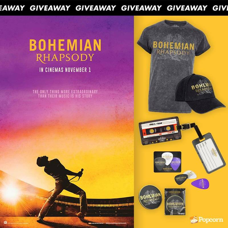 Win Limited Edition 'Bohemian Rhapsody' Movie Premiums