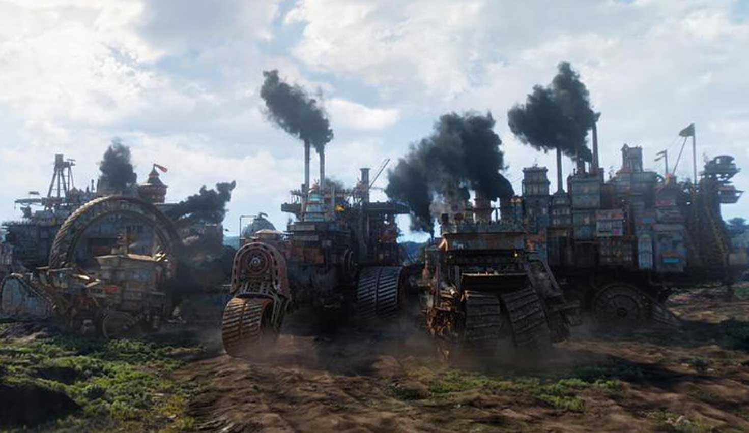 Would Singapore Survive As A Traction City In A 'Mortal Engines' Wasteland?