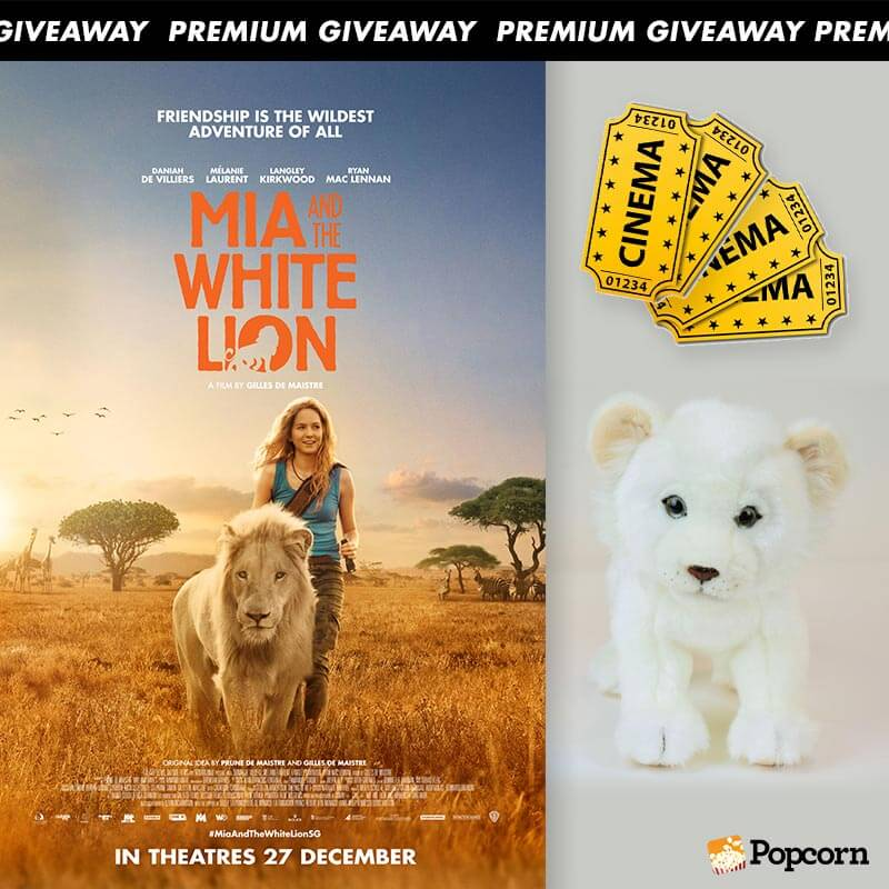 Win A Set Of 4 Preview Tickets And A Soft Toy To Family Adventure 'Mia And The White Lion'