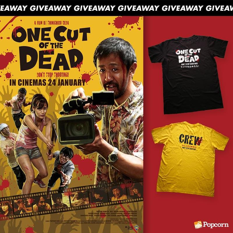 Win Limited Edition T-Shirts From Japanese Horror Comedy 'One Cut Of The Dead'