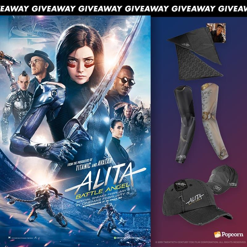 Win Special Movie Premiums To Epic Adventure 'Alita: Battle Angel'