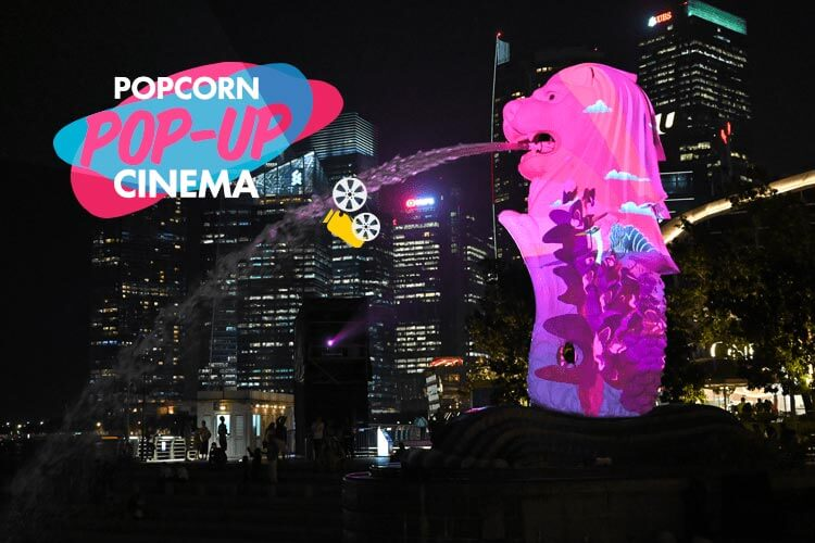 Popcorn Pop-Up Cinema @ i Light Singapore 2019!