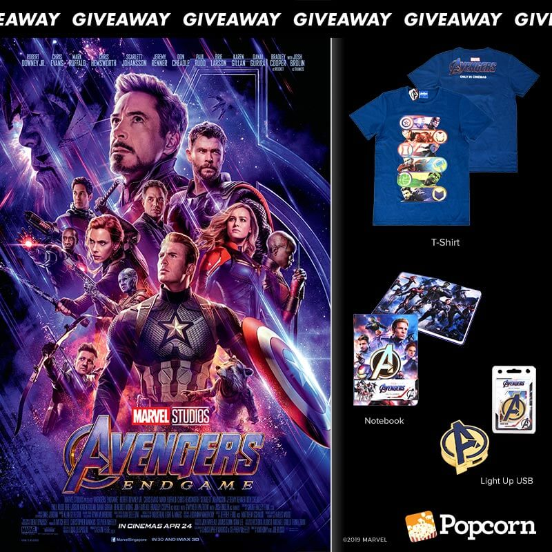 Win 'Marvel Studios' Avengers: Endgame' Limited Edition Movie Premiums
