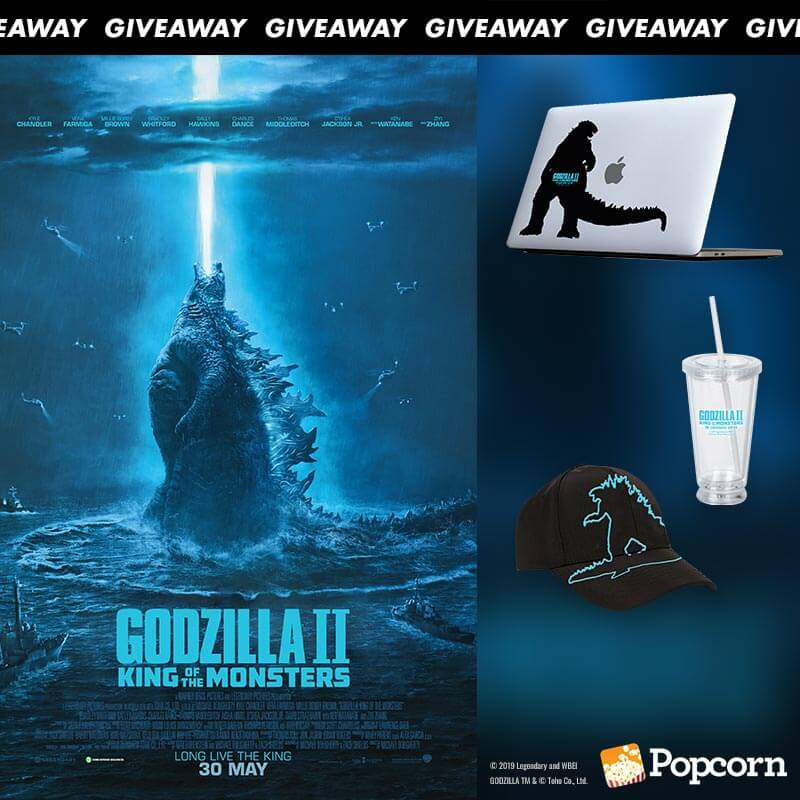 Win Limited Edition 'Godzilla II King of the Monsters' Movie Premiums