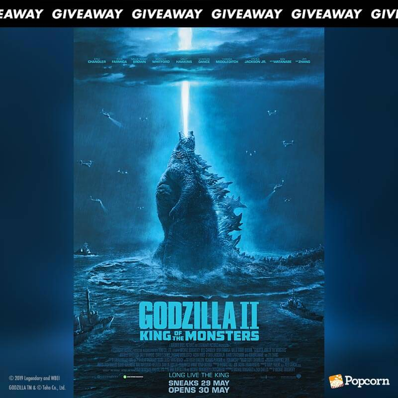 Win Preview Tickets To Blockbuster 'Godzilla II King of the Monsters'