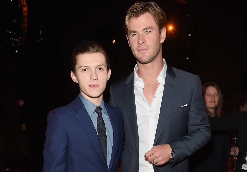 Chris Hemsworth & Tom Holland Interview Each Other For MIB & Spider-Man