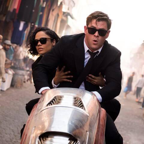 Men in Black: International Press Tour Takes Tessa Thompson and Chris Hemsworth to China