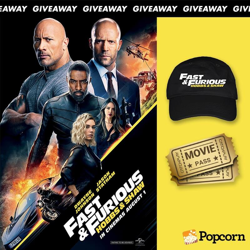 Win Premiere Tickets and Movie Premiums To 'Fast & Furious: Hobbs & Shaw'