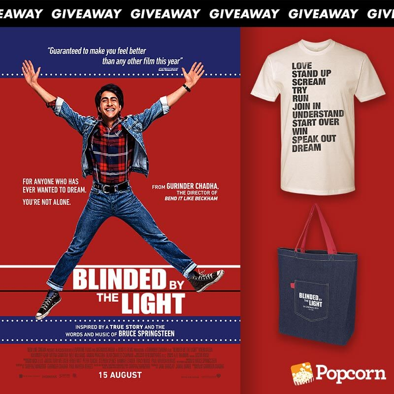 Win Limited Edition 'Blinded By The Light' Movie Premiums