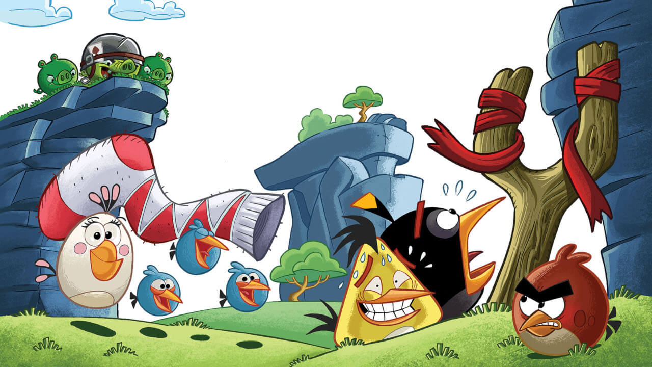 The Angry Birds Break All Barriers!