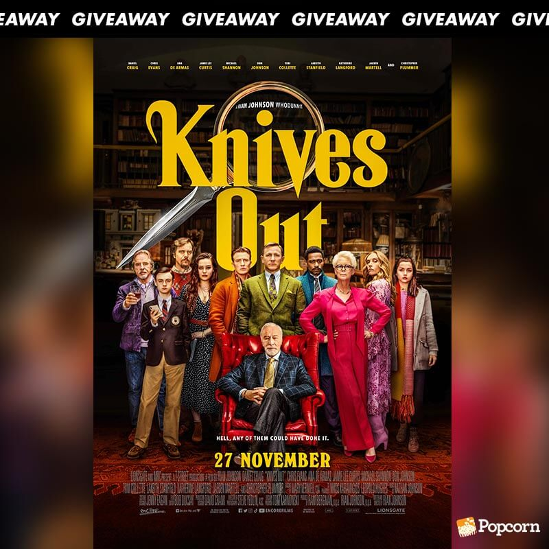 Win Premiere Tickets To Crime Mystery 'Knives Out'