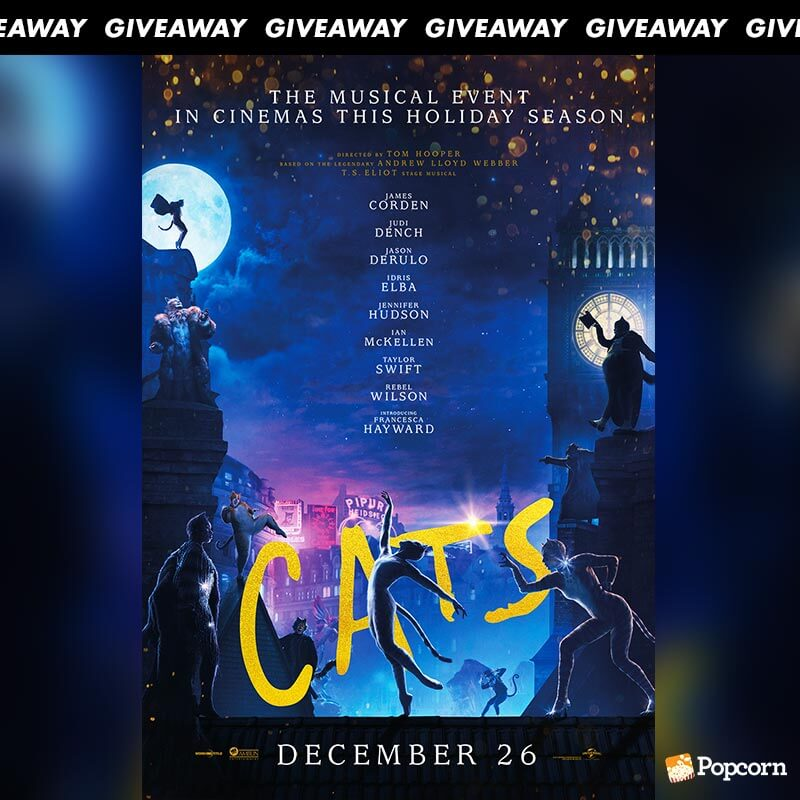 Win Premiere Tickets To Epic Musical 'Cats'