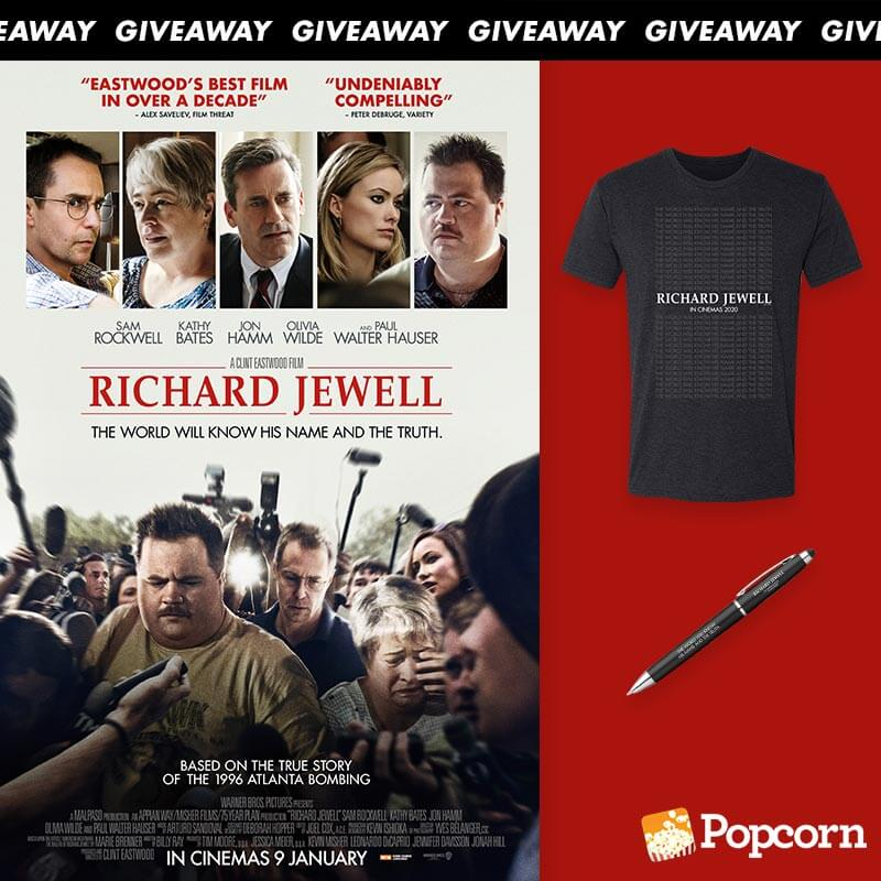 Win Limited Edition 'Richard Jewell' Movie Premiums