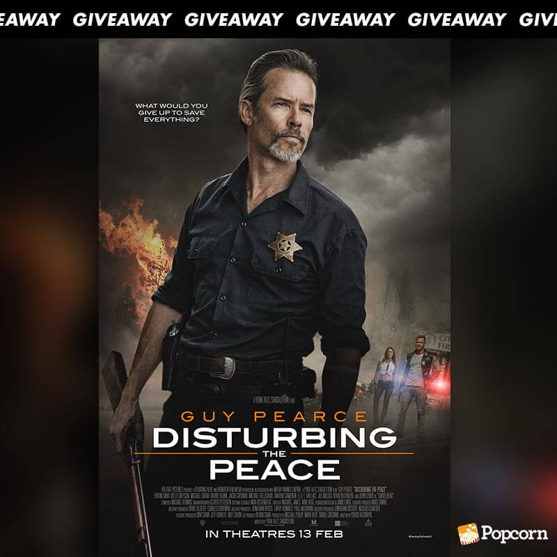 Win Complimentary Passes to Guy Pearce's Action Film 'Distubring The Peace'