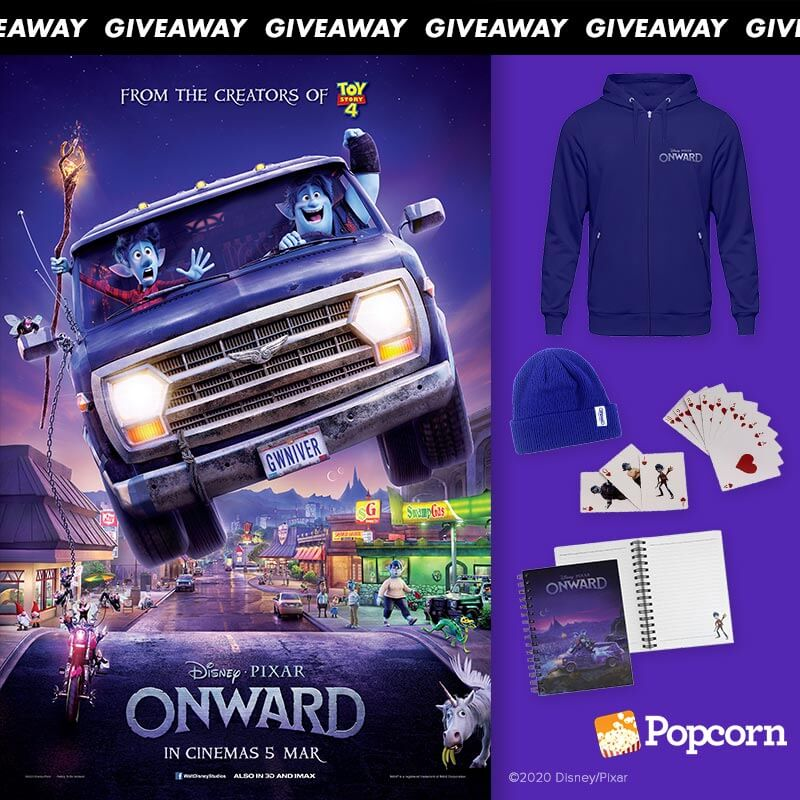 Win Limited Edition Disney and Pixar's Onward Movie Premiums
