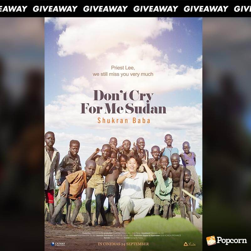 Win Complimentary Passes to Korean Documentary DON'T CRY FOR ME SUDAN
