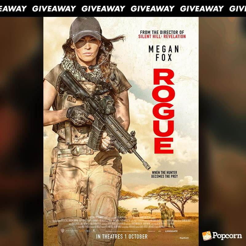 Win Complimentary Passes to Action Film ROGUE