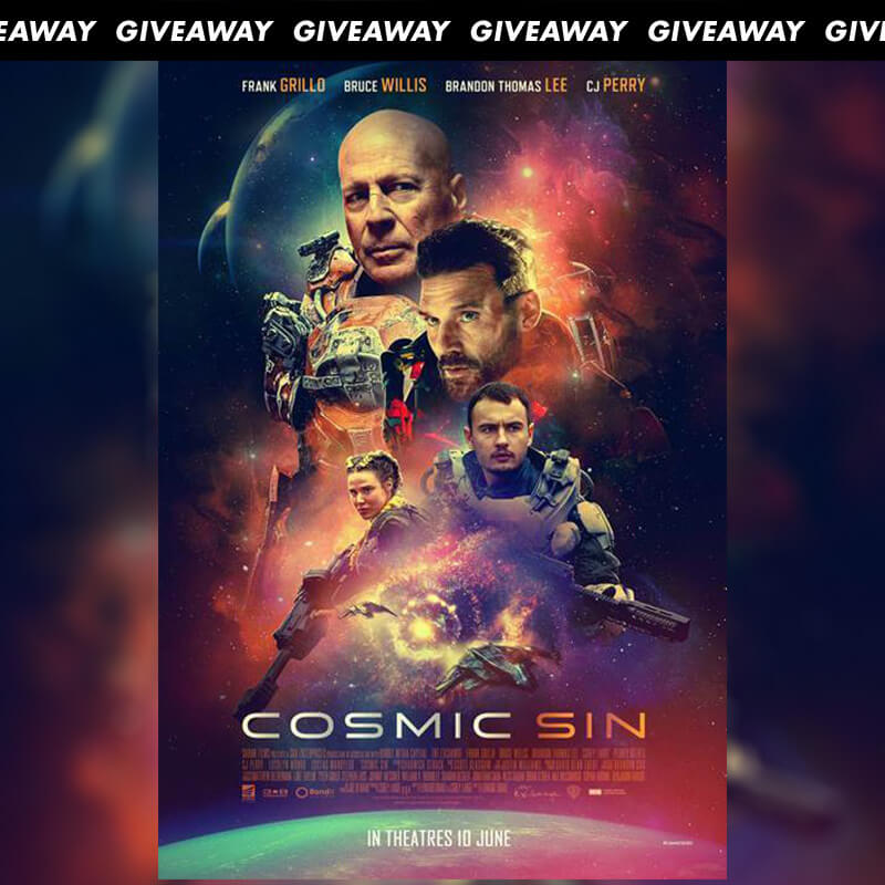 Win Complimentary Passes To Sci Fi Thriller COSMIC SIN