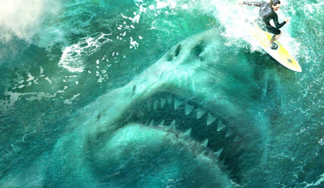 A Giant Shark Unleashes Nightmares In The First Jaw-Dropping Trailer For 'The Meg'