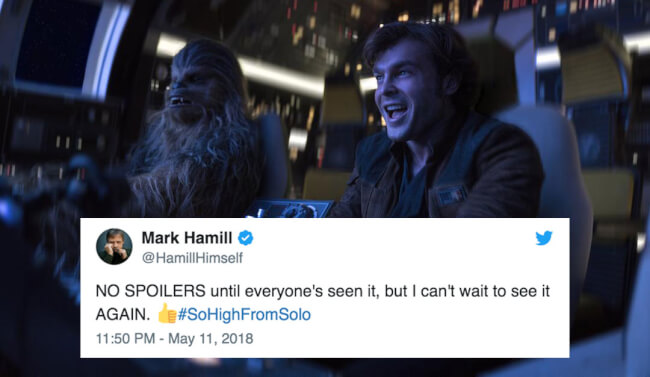 'Solo: A Star Wars Story' Early Reactions: We've Got A Good Feeling About This!