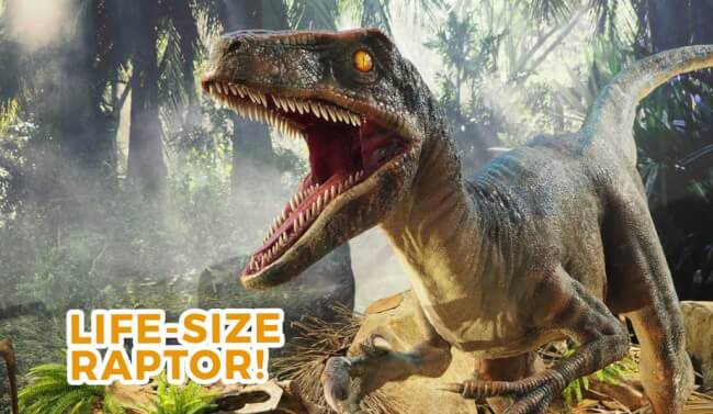 Come Face To Face With The Dinosaurs Of Jurassic World This June Holidays!