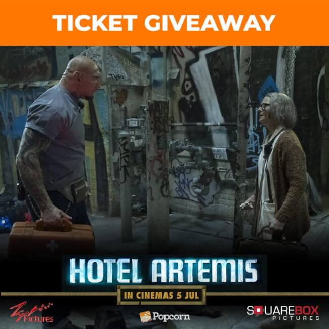 [CLOSED] Win In-Season Passes To Star-Studded Futuristic Thriller 'Hotel Artemis'
