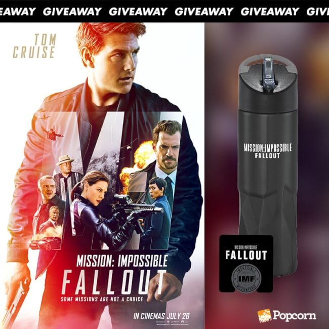 Win Limited Edition 'Mission: Impossible - Fallout' Movie Merchandise