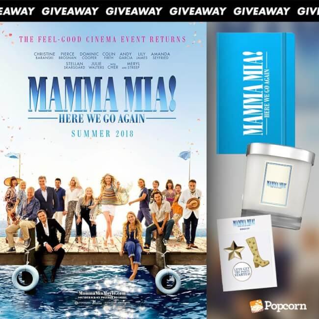 [CLOSED] Win Limited Edition 'Mamma Mia! Here We Go Again' Movie Premiums