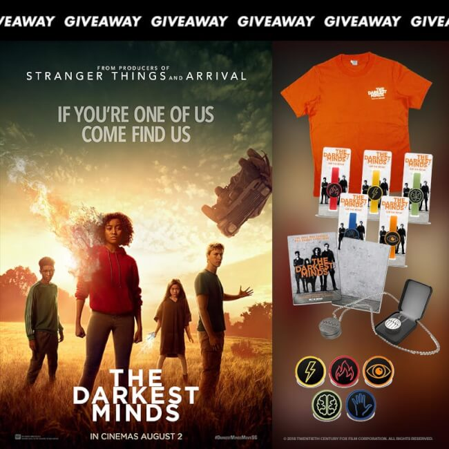 [CLOSED] Win Limited Edition Movie Premiums To Action Thriller 'The Darkest Minds'