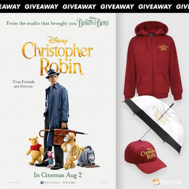 [CLOSED] Win Exclusive Disney's 'Christopher Robin' Limited Edition Movie Premiums