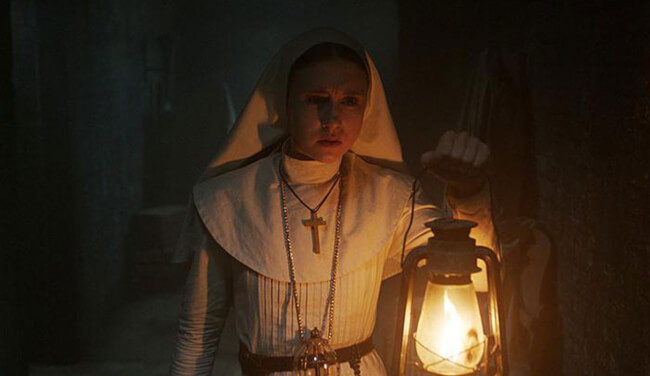 New Hair-Raising 360-Degree Teaser Experience Invites You Into 'The Nun's Creepy Lair