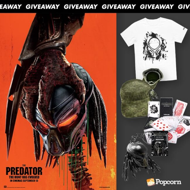Win Limited Edition 'The Predator' Movie Premiums