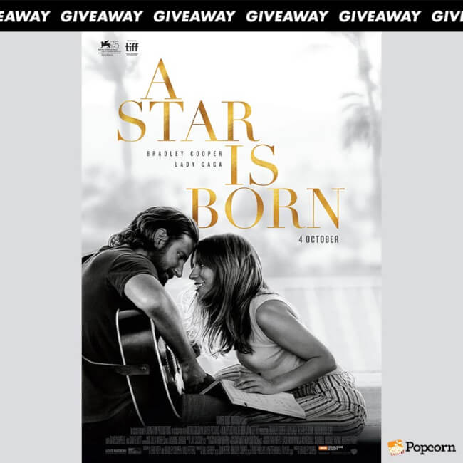 [CLOSED] Win Preview Invite Tickets To 'A Star Is Born'