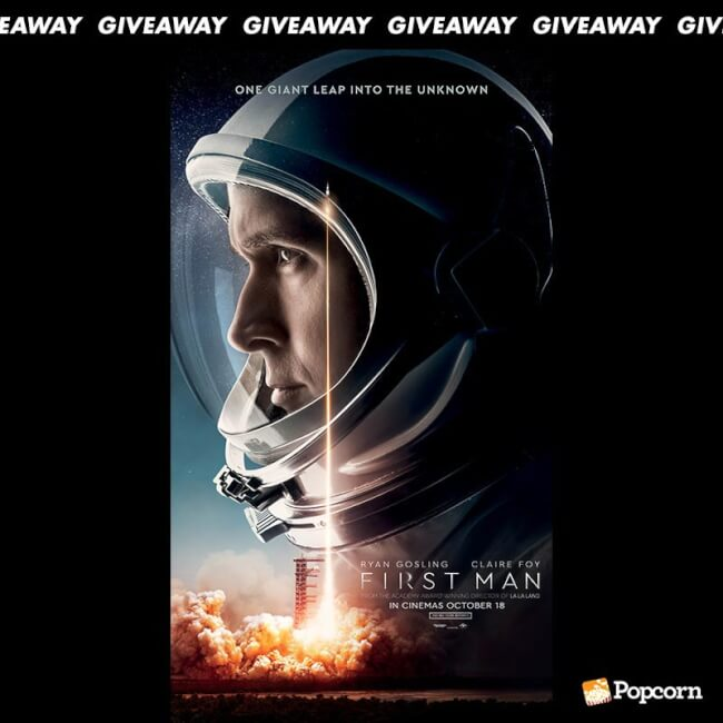 Win A Set Of Movie Premiums To Ryan Gosling's 'First Man'